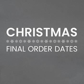 Christmas cut off dates