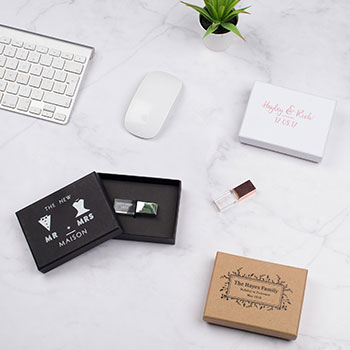 Personalised USB & Print Boxes