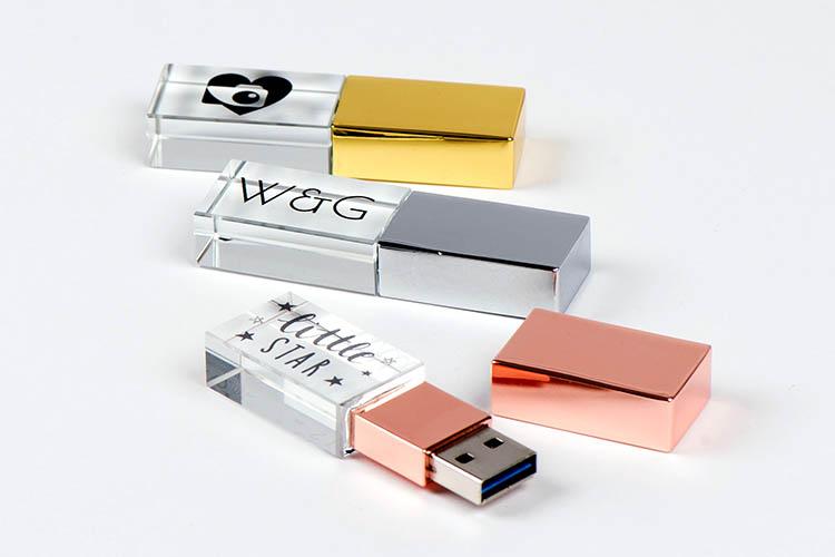 Clé USB Crystal