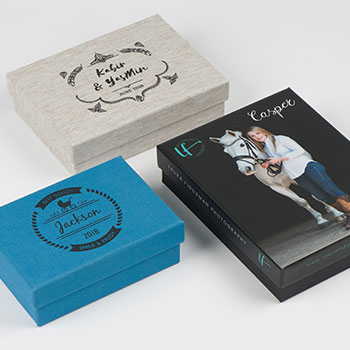 Custom Photo Print Boxes