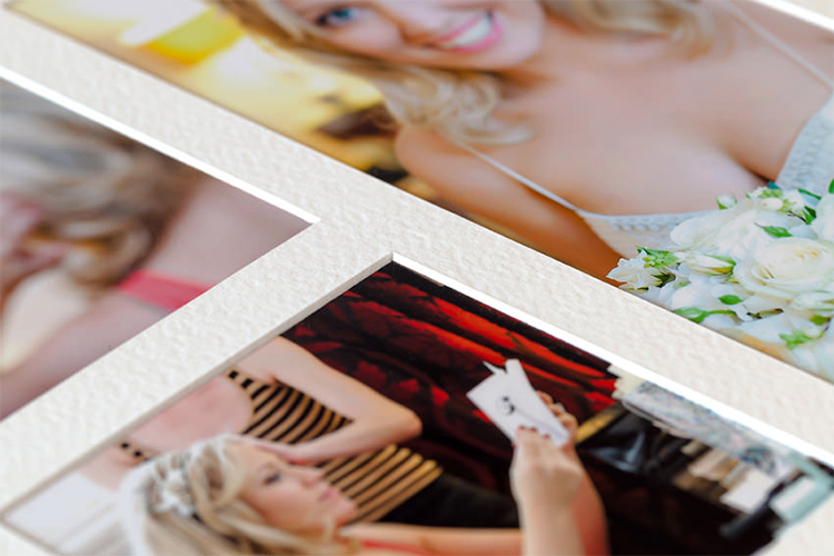 Custom Matted Photo Albums