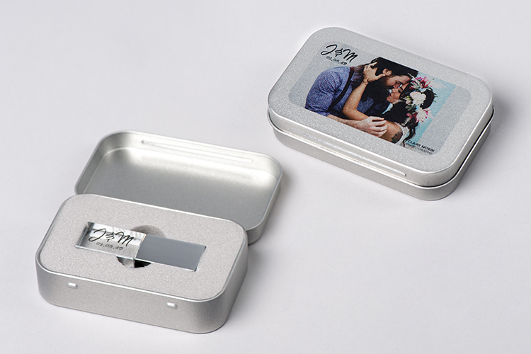 Boite métal USB