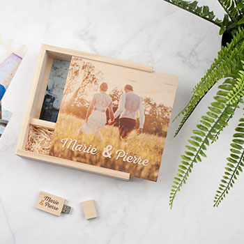 Personalised Wooden USB Boxes