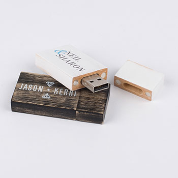 Wooden Vintage USB Stick
