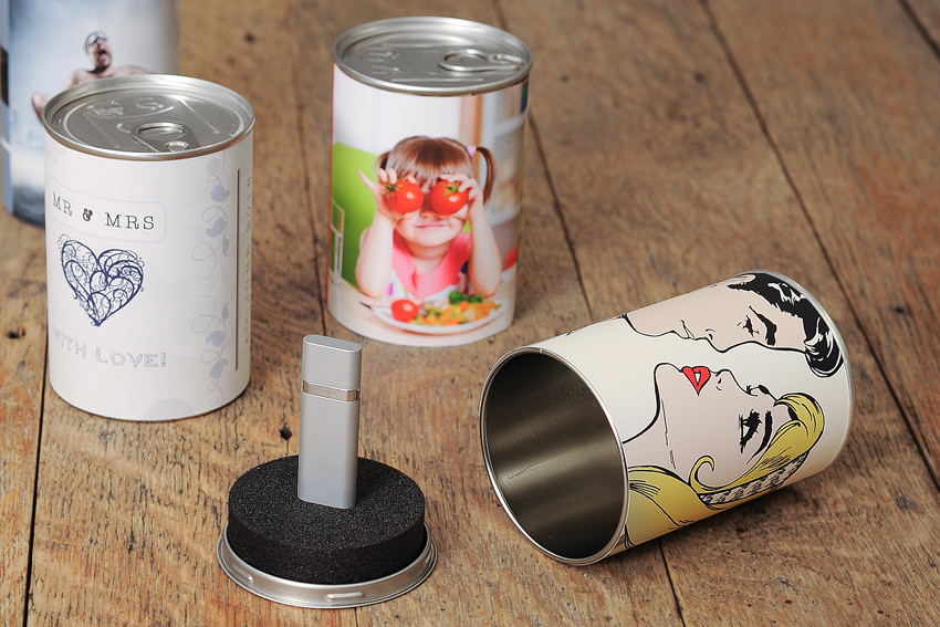 Personalised USB Cans