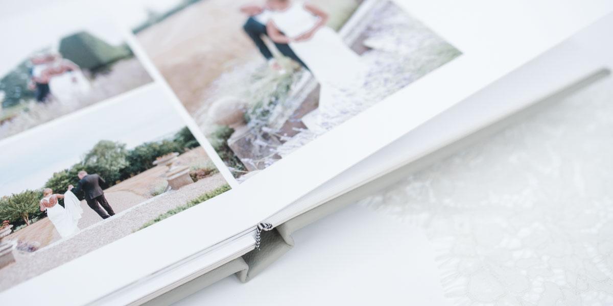 Bespoke wedding albums make memories tangible