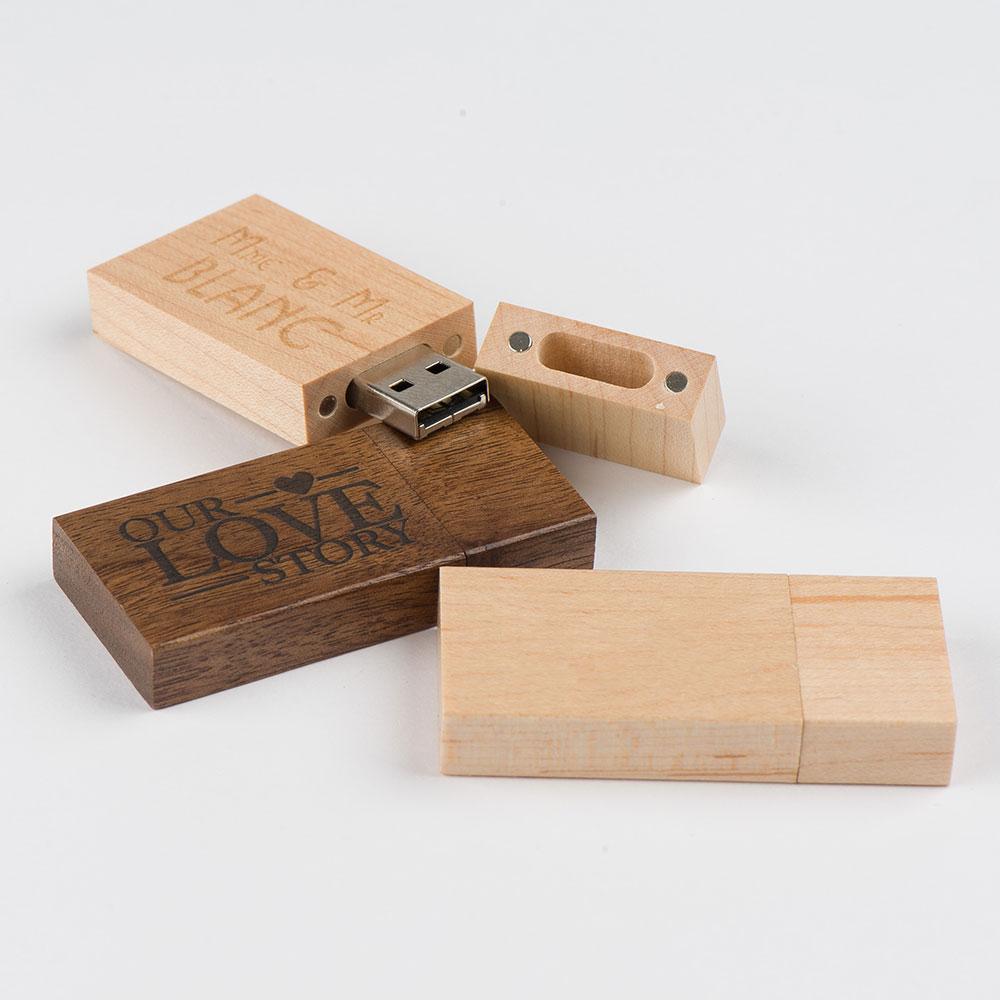 Engraved USB stick
